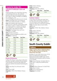 South County Dublin - Heritage Week
