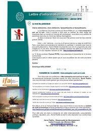 Cliquez sur l'image pour visualiser la Newsletter! - DCF