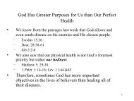 Sojourners-Book of James(13)-Healing and God's Greater Purposes