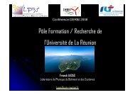 IUT LA Réunion - DERBI 2008