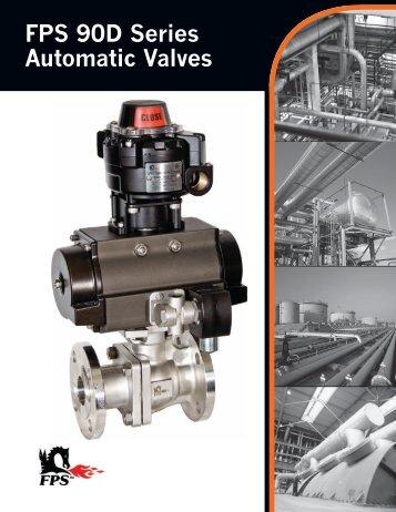FPS 90D Series Automatic Valves Brochure