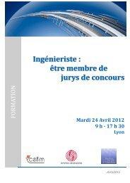 Ingénieriste : être membre de jurys de concours - Syntec ingenierie