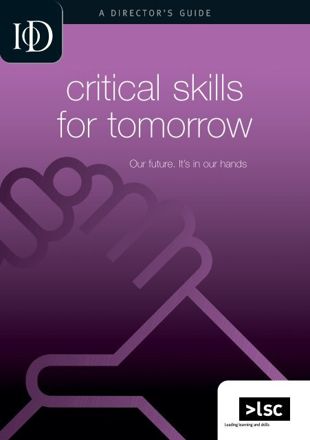 Director: Critical Skills for Tomorrow
