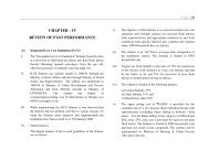 Review of past performance - Ministry of Housing & Urban Poverty ...