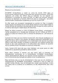 Rapport annuel 2009 - Ecobank - Page 7