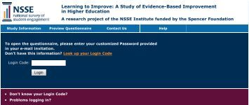 Learning to Improve: A Study of Evidence-Based ... - NSSE