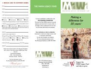 legacy fund colour - Mentoring Artists for Women's Art
