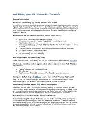 GoToMeeting App for iPad, iPhone & iPod Touch FAQs - Deb Barrett