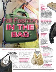 Fall Fashion - Kane County Magazine
