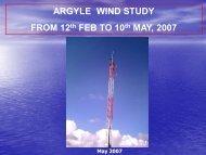 Wind Studies 14 MAY 07