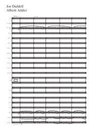 Joe Duddell Alberti Addict - Schott Music