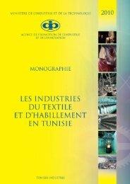 Industries du Textile et de l'Habillement - Tunisie industrie