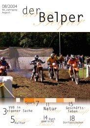 7 Bunt Dorf 18 Natur - Der Belper