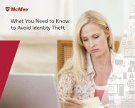 What You Need to Know to Avoid Identity Theft - McAfee