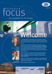 European Focus, Autumn 2007 - JHI