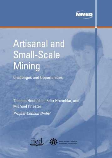 Artisanal and Small-Scale Mining - iied.org - International Institute ...