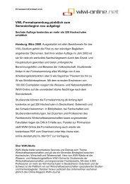 6. Auflage der VWL-Formelsammlung erschienen - WiWi-Online