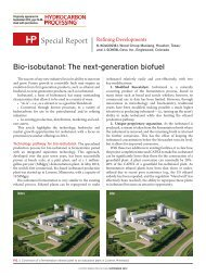 Bio-isobutanol: The next-generation biofuel - Mustang Engineering ...
