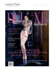 Deluxe Majorca Magazine - Winter 2010/11 - Chalet Spa