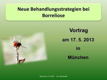 Vortrag Dr. Petra Hopf-Seidel
