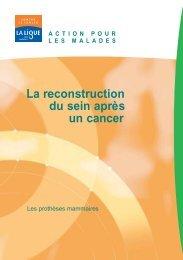 La reconstruction du sein après un cancer - Pataclope83.com
