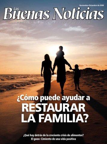 RESTAURAR LA FAMILIA?