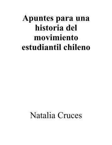 Apuntes para una historia del movimiento estudiantil chileno Natalia ...