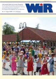 Nr. 8 · August 2009 · 37. Jahrgang Informationsblatt ... - Amt Eggebek