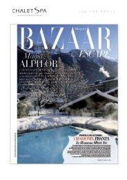 Harper's Bazaar Romania - Winter 2011 - Chalet Spa