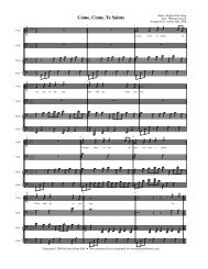 English Folk Song - Free Choral Music: J. Ashley Hall