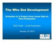 The Who Dat Development - PLANO
