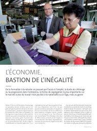 l'éConomie, BASTION DE LLINÉGALITÉ - Lives