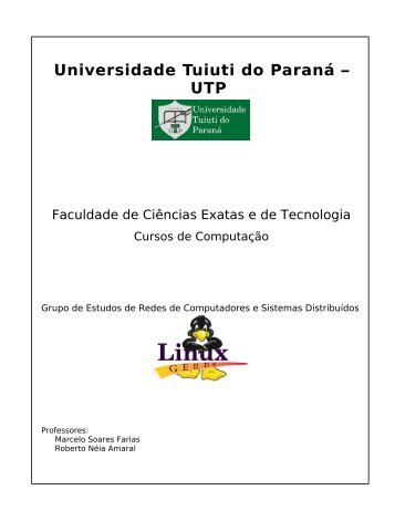 Apostila Servidores - Gerds - Universidade Tuiuti do Paraná