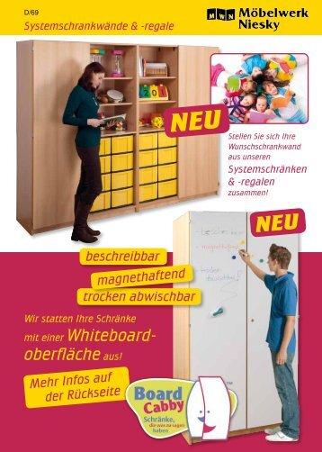 Systemschrankwände - Möbelwerk Niesky