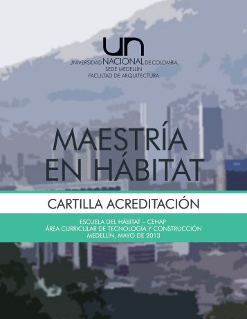 ACREDITACIÓN HÁBITAT - Universidad Nacional