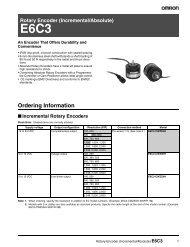 E6C3 Rotary Encoder - pidindustrial.com.br