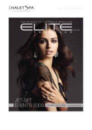 Elite Traveler - Nov-Dec 2008 - Chalet Spa