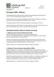 TU_2009_19_bilaga1.pdf - Göteborg