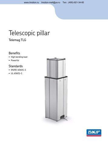 Telescopic pillar