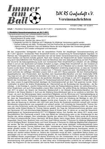 Ausgabe 17 - DJK RS Grafschaft 1930 eV