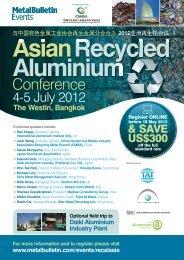 Asian Recycled Aluminium