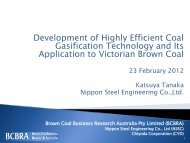Development of High Efficient Coal Gasification Technology and Its ...