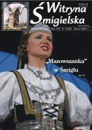 """""""Mazowszanka"""" w Œmiglu - Centrum Kultury w Śmiglu"""