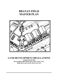 Branan Field Land Development Regulations - Clay County!