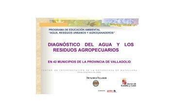 DIAGNÓSTICO DEL AGUA Y LOS RESIDUOS AGROPECUARIOS