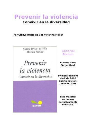 Prevenir la violencia - Terras.edu.ar