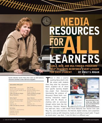 Media Resources for All Learners - Emily Rogan