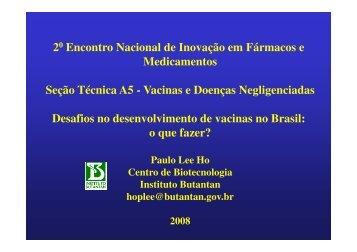 Paulo Lee Ho - IPD-Farma