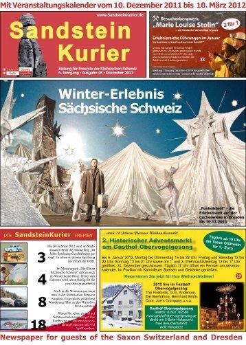 in der Wintersaison - Pirna