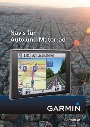 Garmin Strassennavigation